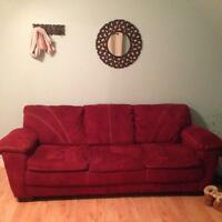 Big comfy couch & chair