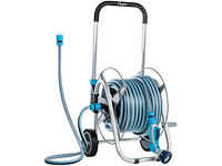NEW Flopro 500 Garden Watering Hose Cart & 30m Hose Lifetime Guarantee RRP £130