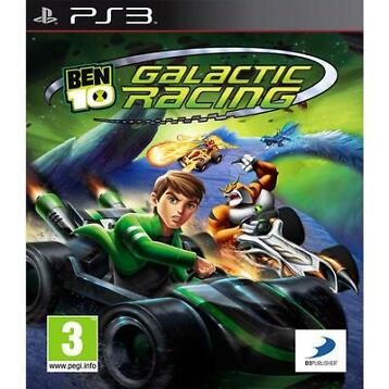 Ben 10 Galactic Racing (PS3) Morgen in huis! - iDeal!