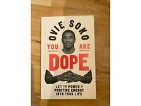 Ovie Soko YOU ARE DOPE positive energy book