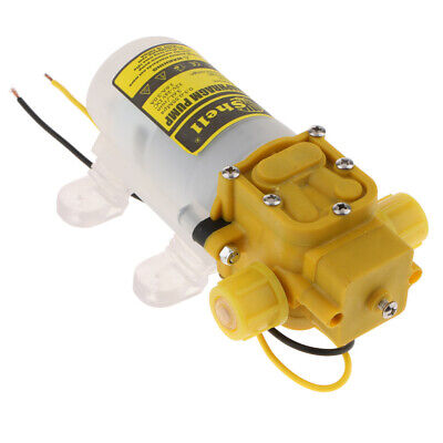 Dc 12v 30w 58psi Agricultural Diaphragm Water Sprayer Pump 2lmin Yellow