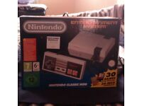 Nintendo classic mini console *RARE/DISCONTINUED *
