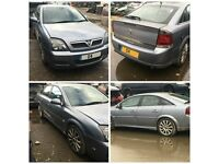 Vauxhall Vectra 2004 Grey Paint Code Z163 for breaking all parts available