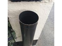 Flue pipe for log burner