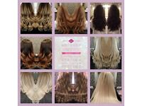 HAIR EXTENSION SPECIALIST ALL METHODS ALSO HAIR LOSS INTEGRATION SYSTEMS & VOLUMISING SYSTEMS