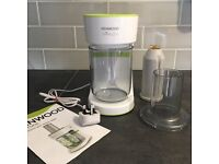 Kenwood electric spiraliser - nearly NEW