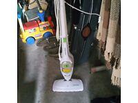 Steam floor cleaner.