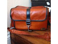Hanimex Kamkit Vintage Camera Bag Light Brown