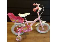 Apollo cupcake girls bicycle with doll seat