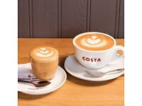 Barista wanted in Costa Coffee Brent Cross (NW-London)