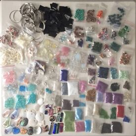 Beads and jewellery making supplies