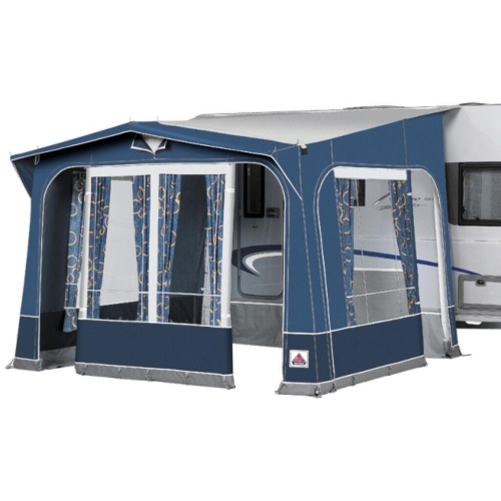 Caravan Porch Awning - Isabella Minor, Blue