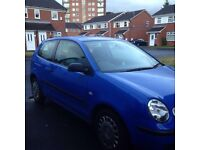 VW Polo good condition very low mileage 12 months MOT