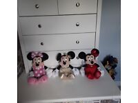 MINNIE MOUSE Soft Toys ***Great Condition***