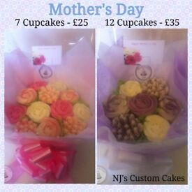 Mother's Day Cupcake Bouquets