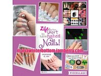 Do you love pretty nails? With a choice of over 300 designs, non toxic, chip free, mani or pedi.