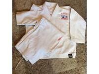 Tae Kwon Do TAGB TKD Dobok suit size 1 teenage / small adult