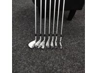 lovely Srixon Z765 forged irons 4 - wedge 2017 model in great condition - KBS Tour Stiff shafts