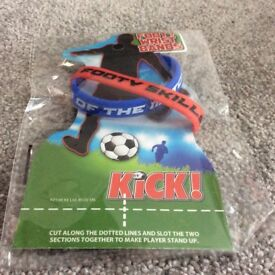Toys and games. Girls and boys. Footy wrist bands