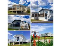 STATIC CARAVANS FOR SALE - BUY NOW PAY LATER - SITE FEES COVERED UNTIL 2019 - 12 MONTH SEASON
