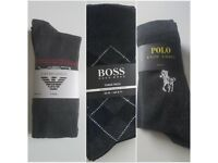 Armani, Boss n Polo men's socks (3pairs)