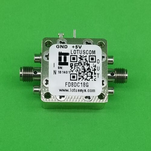 Frequency Divider/Prescaler Divide by 8 (DC to 18 GHz) FD8DC18G