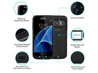 KiWiBiRD Samsung Galaxy S7 Edge Battery Charger/Case