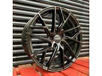 "Brand New Veemann V-FS44 Alloys 5x112 18"" Wheels Audi A3 VW Golf Seat Skoda"