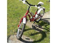 Girls Bicycle 20 inch wheels Apollo (original cost £100)