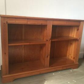 Lovely pine bookcase