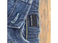 Genuine Calvin Klein jeans Age 1/2