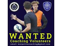 Youth Football Coach / Football Coaching for the Met Police Youth FC