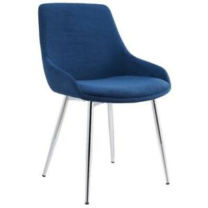 2PK Blue Side Chair Sale-WO 7700 (BD-2579)