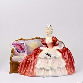 Vintage Belle O The Ball Royal Dolton Porcelain Figurine - HN 1997