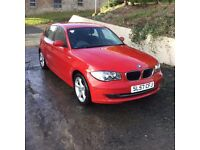 BMW 1 series Red 116i