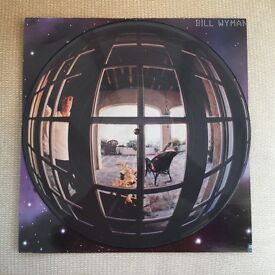 """BILL WYMAN - Bill Wyman ~12"""" Vinyl LP *PICTURE DISC* *MINT*"""