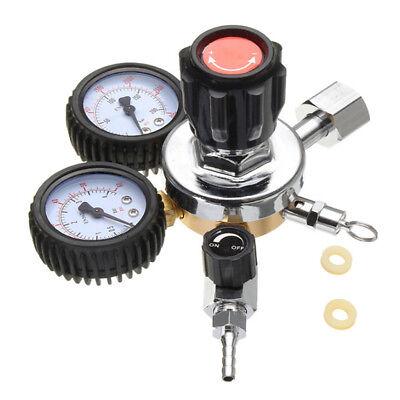1 X Co2 Regulator Dual Gauge Heavy Duty Series Draft Beer Homebrew Kegerator