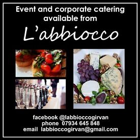 Party and event catering by l'abbiocco