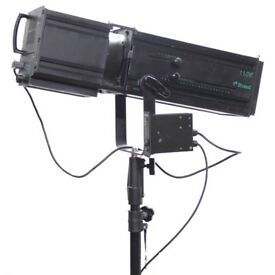 strand 1200w followspot theatre drama lighting
