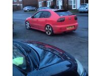 Seat Leon cupra 1.8 turbo 03 faclift remapped very fast tints loads spent look !!!!