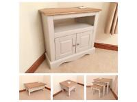 Pine TV Unit / Coffee Table / Side Table / Nest Of Tables ***£399***WILL SELL SEPARATELY