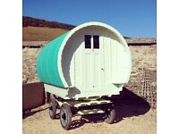 gypsy caravan(restored)REDUCED TO SELL ASAP!