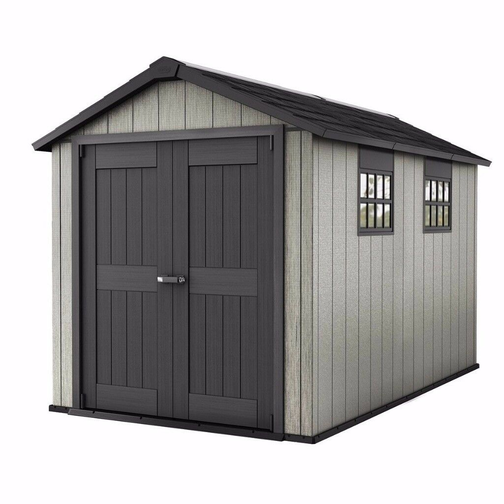 keter oakland garden shed 7511 350m x 229m75ft 11ft cheapest