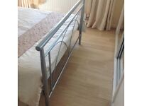 Double bed with the mattress for sale