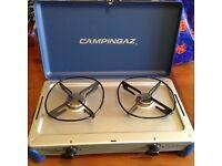 Campingaz Camping Kitchen Gas Stove x2 rings