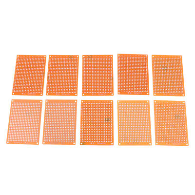 10pcs 5x7cm Pcb Manufacture Prototype Etching Breadboard Blank Circuit Board