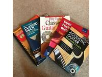 Guitar tutor books with DVDS/CD