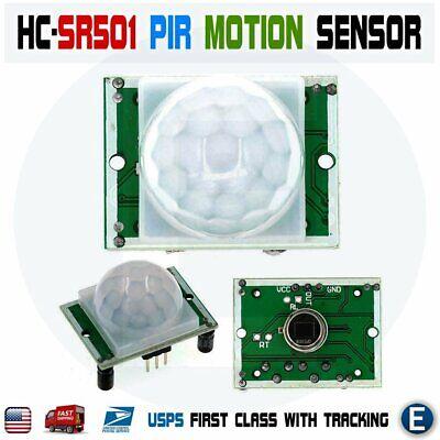 Hc-sr501 Pyroelectric Infrared Ir Pir Motion Sensor Detector Module Arduino