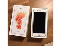 iPhone 6s white rose gold 16gb TO SWAP iPhone SE