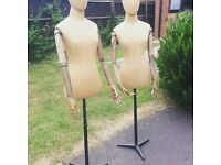 Articulated mannequins